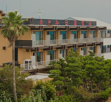 老舗のホテル